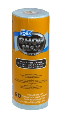 Tork Advanced ShopMax Wiper Blue