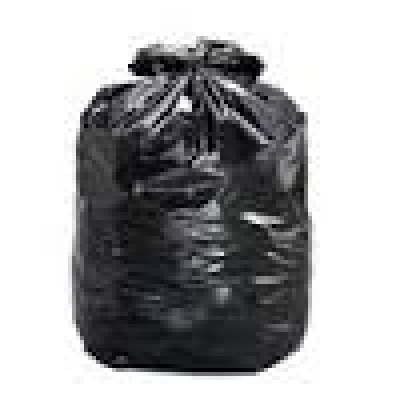 35'' x 50'' Strong Black Garbage Bags - 200/bx